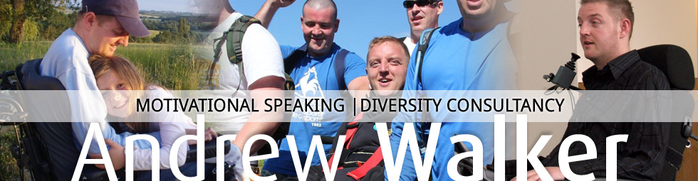 Andrew Walker | Motivational Speaking & Diversity Consultancy